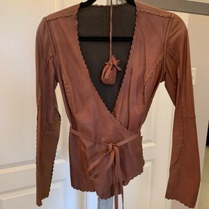 Danier Long Sleeve leather